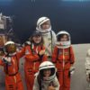Students visit the Museum of Space History